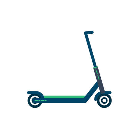 Scooter icon. Modern illustration. Flat vector. Isolated on white background
