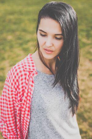 beauty hipster girl