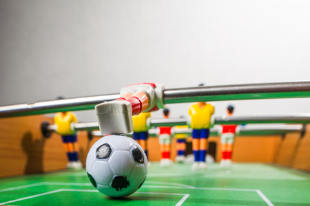 foosball: football players foosball