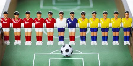 foosball: football players foosball