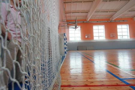 Basketball hall indoor