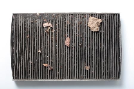 auto repair: Dirty car air filter