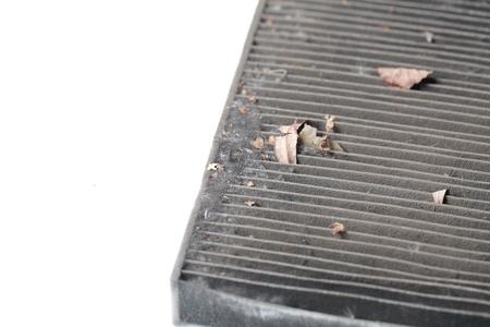 Vuile auto luchtfilter