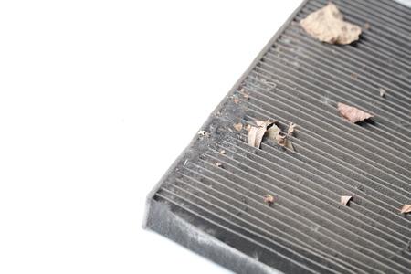 Filtro de aire sucio del coche Foto de archivo - 84110823