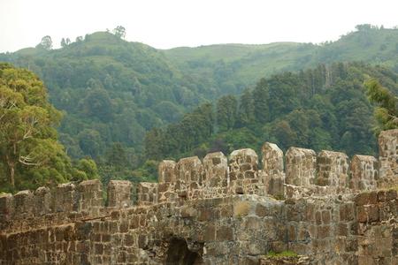 Gonio-Apsaros ancient fortress Stock Photo