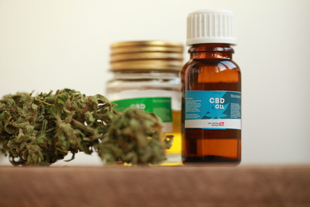 cannabis oil cbd 스톡 콘텐츠