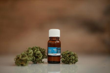 大麻油CBD 写真素材
