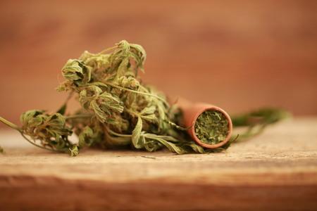 Indica Cannabis pipe
