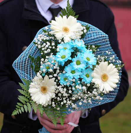 colorful bouquet of flowers Stock fotó