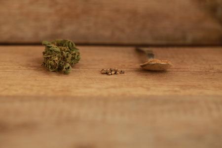 Cannabis cbd hemp seeds flour