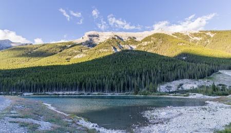 adn: Lagos spray embalse del ADN del estanque de cabra Canmore Alberta Canadá