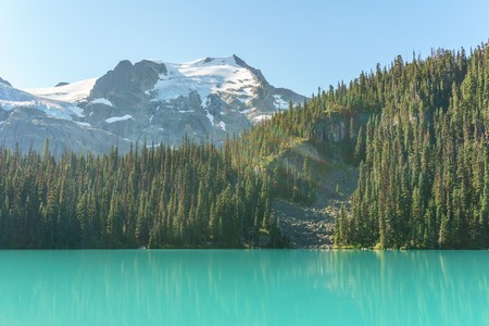 Joffre Lake in British Columbia, Canada at day time