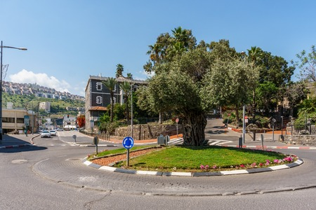 Tiberias, Israel - March 31, 2018: Street view in the old city of Tiberias Israel. Editorial