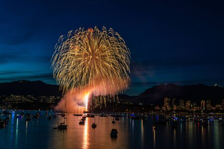 Celebration of Light team India perform fireworks in Vancouver July 27 2019