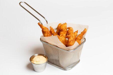 squid rings or deep-fried onion rings