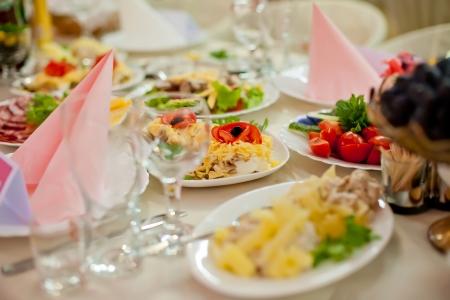 mesa para banquetes: Banquete de mesa