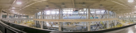 Panorama view from top. Cyclotrone in Berkeley lab.
