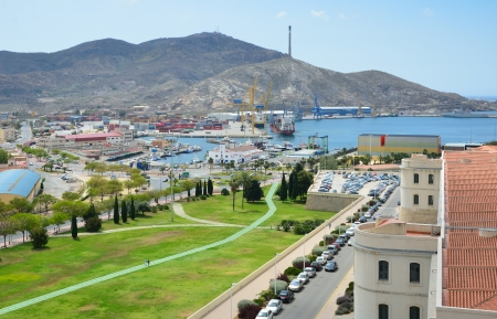 naval: Cartagena is a Spanish city and a naval station located in the Mediterranean coast