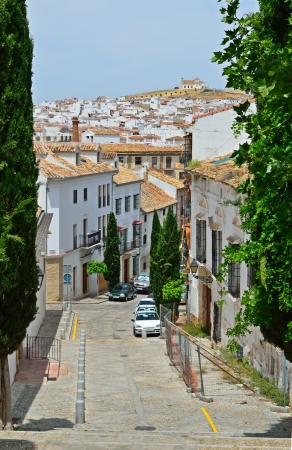 Malaga is sprinkled liberally with pretty pueblos blancos or white towns  Antequera is one of these to the north  photo