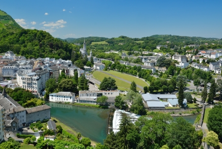 Lourdes is a major place of Roman Catholic pilgrimage and of miraculous healings  It is a small market town lying in the foothills of the Pyrenees
