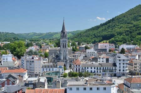 Lourdes is a major place of Roman Catholic pilgrimage. It is a small town lying in the foothills of the Pyrenees.