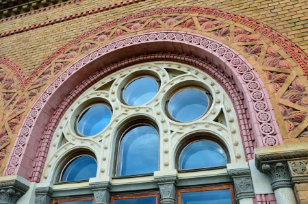 chernivtsi: Famous building of the Chernivtsi University is the bright exemple of the Romanesque and Byzantine architecture embellished with motifs of Ukrainian folk art