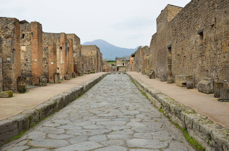regenerated: Pompeii has been a popular tourist destination for over 250 years
