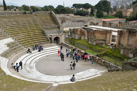 retrieved: Pompeii has been a popular tourist destination for over 250 years