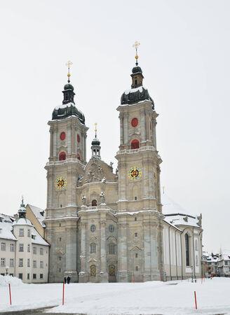 galla: L'Abbazia di San Gallo � un complesso religioso cattolico romano nella citt� svizzera San Gallo