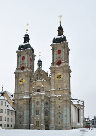 gall: The Abbey of Saint Gallen is a Roman Catholic religious complex in the city of St  Gall