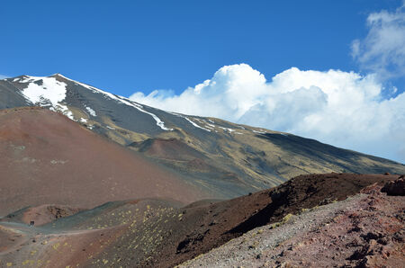 scoria: Mount Etna is one of Sicily