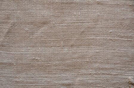 homespun: Texture of the vintage homespun linen textile