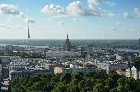 edifices: Riga is the largest city of the Baltic states. It lies at the mouth of Daugava river.
