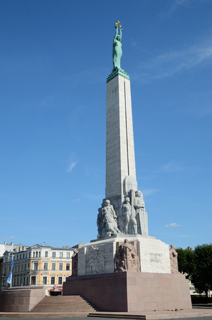 sovereignty: The Freedom Monument is considered an important symbol of the freedom, independence, and sovereignty of Latvia.