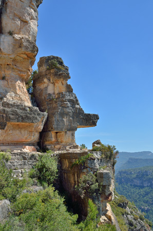 Siurana is a world-class climbing destination. There are steep walls, slabs, overhangs and other limestone landforms in the Prades mountains overgrown with lush foliage.