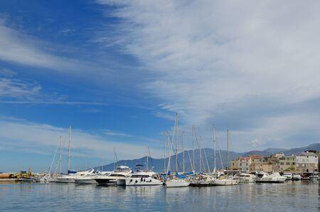 Saint-Florent is a fishing port located near the gulf of the same name. Today, it is a popular summer vacation spot for many tourists for one of the most beautiful beaches on the Mediterranean coast.
