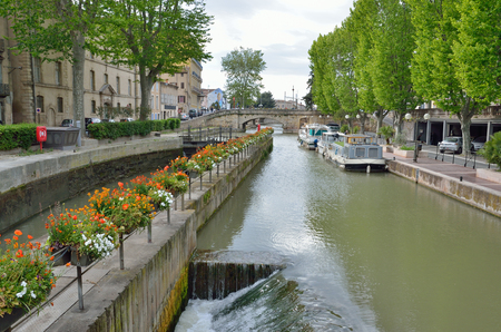 The lock is used on the canal de la Robine in the ancient French city Narbonne. It is the third section of the La Nouvelle branch.
