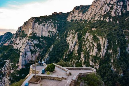 Sant Geroni height more than a kilometer, mountain Catalonia, Monastery of Monseratt
