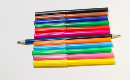 dearly: they are used for drawing, prettification, children love them dearly, felt-tip pens of different colors