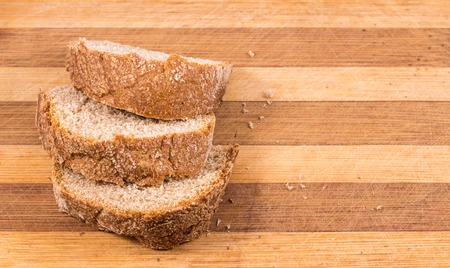 black bread: black bread on a wooden background healthy food