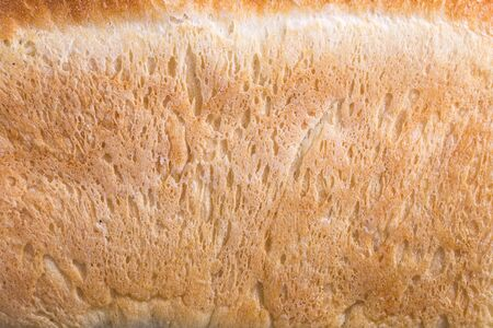 bright crust texture of white bread light and looks very appetizing