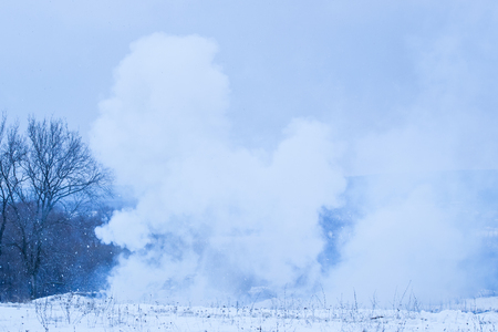 consequences of a dense smoke on the field of a projectile the concept of war
