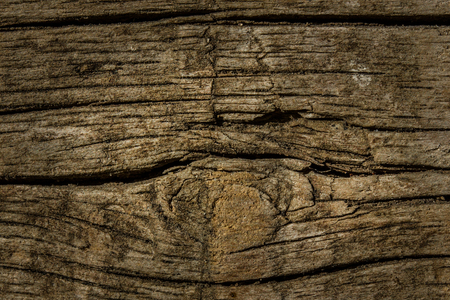 Dark texture of old boards looks fantastic and mysteriously excellent background for design Standard-Bild