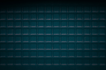 blue mysterious background with squares patterns closeup texture for design