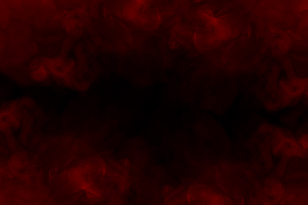 frame of red cigarette vapor foggy and ghostly thick and transparent various charming patterns abstraction for design color concept of smoking