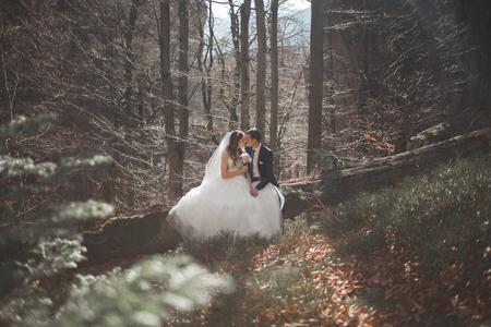 포리스트의 화려한 웨딩 커플
