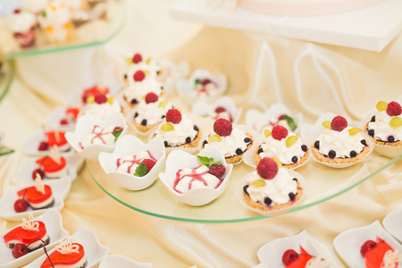 Delicious Wedding Reception Candy Bar Dessert Table Stock Photo Picture And Royalty Free Image 61266844