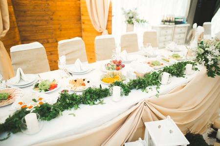 결혼식을위한 훈장. 아름다운 꽃들