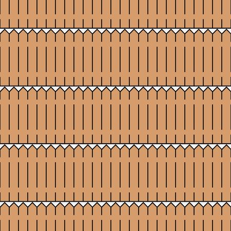 endless: Endless pattern of simple fence
