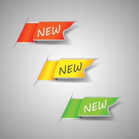 new arrow: New label Illustration